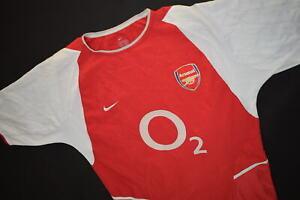 Nike Arsenal London Trikot Jersey Shirt Camiseta Maglia Maillot Henry 02/03 M-L
