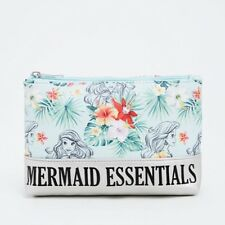 Disney The Little Mermaid Ariel Essentials Makeup Cosmetic Bag NWT!