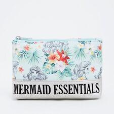 Disney The Little Mermaid Ariel Essentials Makeup Cosmetic Bag NWT!
