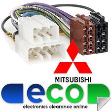 T1 Audio T1-12 Mitsubishi Galant 1988 - 1995 Car Stereo ISO Harness Adaptor Lead