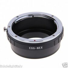 Adapter Ring EOS-NEX for Canon EF EF-S Lens to Sony E-Mount A7R A7 A6000