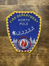 NORTH POLE FIRE DEPARTMENT PATCH NEW