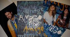 """ELLA BAILA SOLA & JARABE DE PALO SIGNATURES IN """"PREMIOS AMIGO 1998"""" PRESS KIT"""