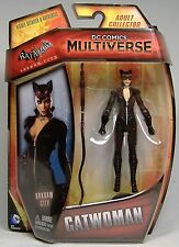 "CATWOMAN BATMAN DC COMICS MULTIVERSE ACTION FIGURE ARKHAM CITY 4"" MOSC 2015 HTF"