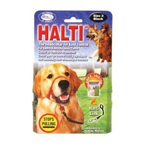 Halti Pet Dog Padded Headcollar Stops Pulling Training Halter Harness 6 Sizes