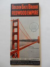 Pre-Owned 1939 Golden Gate Bridge Travel Brochure San Francisco Shell Gas Dealer