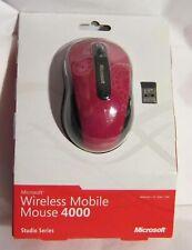 Microsoft Wireless Mobile Mouse 4000 BlueTrack Nano Transceiver Studio Series