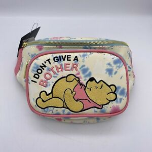 Loungefly Disney Fanny Pack Winnie the Pooh Don't Give a Bother Tie-Dye Hip Bag