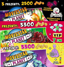 Moviestar Planet 3 digital game codes:1hair with glitter+dress + 1VIP7days