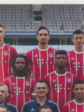 BAM1718 - Sticker 4 - Mannschaftsbild - Panini FC Bayern München 2017/18