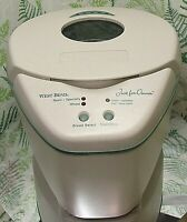 WEST BEND JUST FOR DINNER AUTOMATIC BREAD MAKER MACHINE WITH INSTRUCTIONS CLEAN!