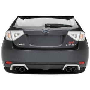 08-14 Subaru Impreza WRX STi WAGON Exhaust Aluminum Trim OEM NEW E7710FG030