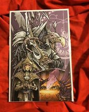 POWER OF THE DARK CRYSTAL #1~1:25 VARIANT~SIGNED BY DAVID PETERSEN~MOUSE GUARD~