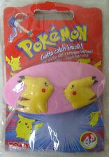Vintage  1998 Pokemon go pikatchu clip pour cheveux idéal pour dresseuse pokémon
