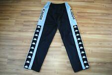 Kappa Foot Locker Trousers Pants Vintage Retro 90S Poppers Lampas Big Logo Large