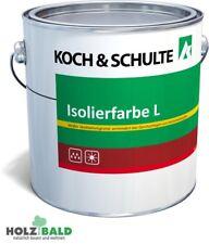 K&S Isolierfarbe L Farbe Holz Grundierung für innen und außen 5 l