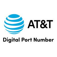 ATT  AT&T Prepaid Digital Numbers For Port | AT&T ATT