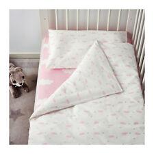 Bedlinen Set For Crib Pink Nursery Cot Bedding 3 Piece Girl IKEA HIMMELSK NEW