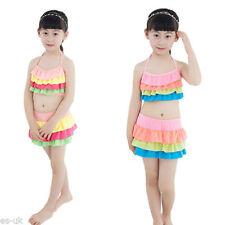 Vêtements bikinis polyester pour fille de 2 à 16 ans