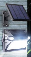 Luce solare da esterno con sensori movimento pannello separato, Lampada solare