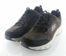 X26 NEW $55 Men's Sz 11 M Skechers Oak Canyon Leather & Textile Running Sneakers