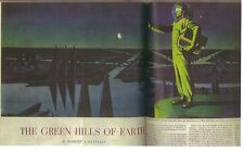 "ROBERT HEINLEIN ""The Green Hills of Earth"" in SATURDAY EVENING POST Feb. 8, 1947"