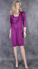 NEW Ladies Purple NUEVA Dress Size 10 Mother of the Bride Evening Wedding Outfit