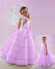 NWT Flower Girl Lilac Wedding Sleeveless Dress Size 4