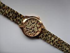Reloj de cuarzo muy inteligente Ginebra Leopardo Estampado