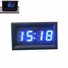 Car Motorcycle Accessory 12V/24V Dashboard LED Display Digital Clock BU Hoc v