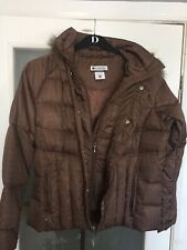Ladies Columbia Down Quilted Jacket Size Large