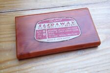 Vintage Early Plastic Twinco Slidaway Clothes Brush/Folding/Celluloid/Retro/50's
