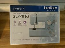 BRAND NEW Brother LX3817A 17-Stitch Full-size Sewing Machine Aqua