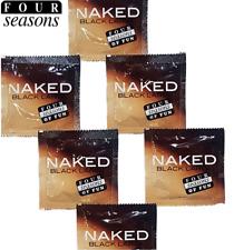 Four Seasons Naked Black Large Condoms Bulk Buy 144 Condoms
