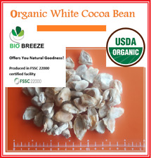 WHITE COCOA BEANS Organic from Sri Lankan Forest Gardens - Bio Breeze