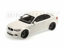 Minichamps 2011 BMW M1 Series Alpine White 1:18* New Item!