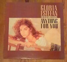 Gloria Estefan 2x Vinyl LP Albums 33rpm Anything for you + Cuts Both Ways 1980's