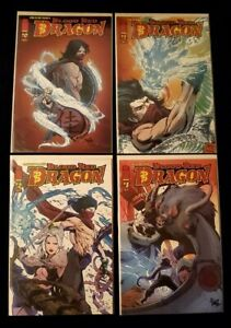 """Blood Red Dragon 0-3"" Image Lot of 4 Complete Set (Stan Lee, Yoshiki) Rare"
