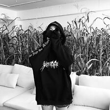 Vintage Gothic Lolita Japan Harajuku Warm Loose Pullover Sweatshirt Hoodie Coat