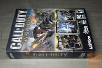 Call of Duty Warchest (PC 2006) FACTORY SEALED! - RARE! - EX!