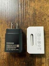 Original Samsung 25W USB-C Super Fast Charger & USB-C Cable Galaxy S21 Ultra