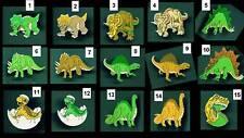 15 DIFFERENT DINOSAUR PINS