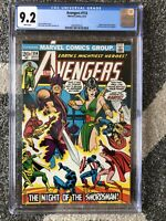 AVENGERS #114 CGC 9.2 WHITE PAGES 1973 MANTIS, SWORDSMAN COVER BRONZE AGE MARVEL