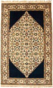 Floral Geometric Design Indo-Bidjar 5X8 Oriental Rug Home Decor Foyer Carpet