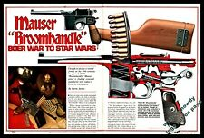 1985 Mauser Broomhandle Boer War to Star Wars 9-page Article