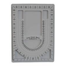 Perlen-brett 33x24x1cm Perlensortierbrett Sortierbrett Designbrett