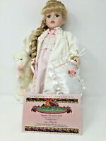 Victorian Collection Porcelain Doll by Melissa Jane Limited Edition #76867 1999