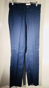 NOS BSA Boy Cub Scouts Youth Pants Trousers Blue Unhemmed 82914 size 36 Waist 36