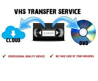 VHS to DVD Converter Transfer Service - VCR Digital Convert - Fast & Reliable