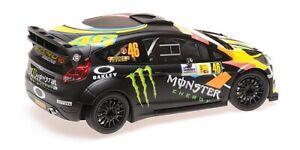 MINICHAMPS 151 120846 FORD FIESTA RS WRC model V Rossi Cassina Monza 2012 1:18